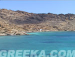 The beautiful beach of Agios Ioannis