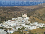 Lefkes village in paros