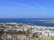The villages of Paros